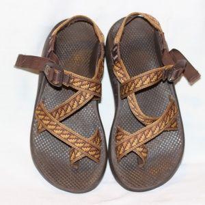 Chaco Z/2 Brown Tan Sport Sandal Men 7